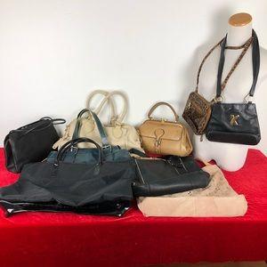 Lot Of 9 Designer Vintage Bags